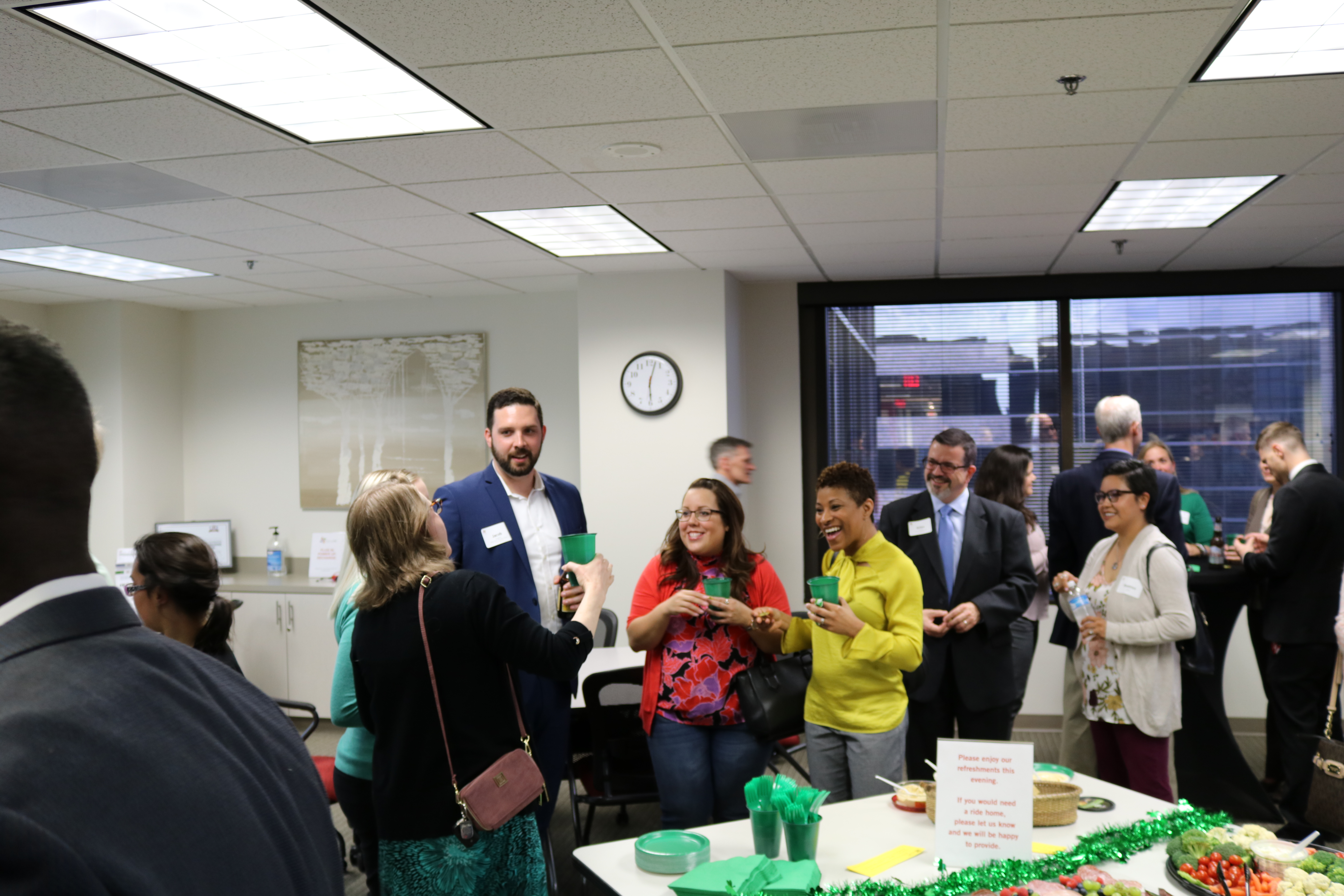 Networking Event At DallasHR Office